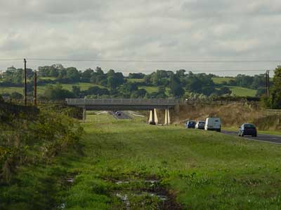 Semington Bypass, new canal aquaduct