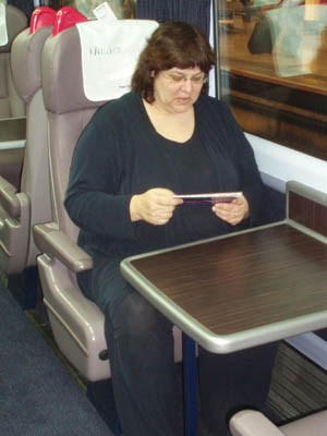 New FGW First Class seat