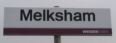 New Station Sign