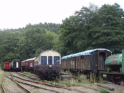 Old stock awaiting work, Norchard