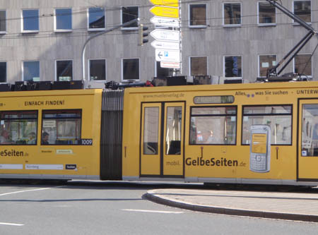 Trams in Germany
