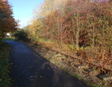 Disused railway to Radstock