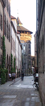 The walled city of Nuremburg