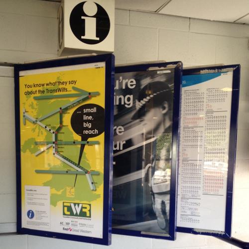 Information at Swindon Station