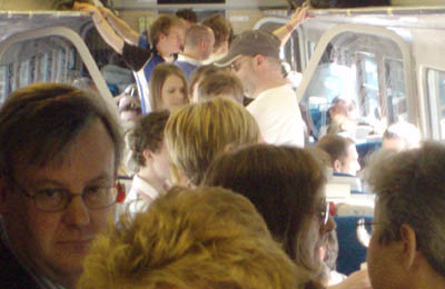 Overcrowding on First Great Western