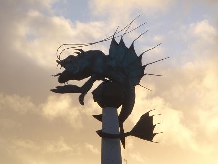 Sea Monster / Dragon - Plymouth Barbican