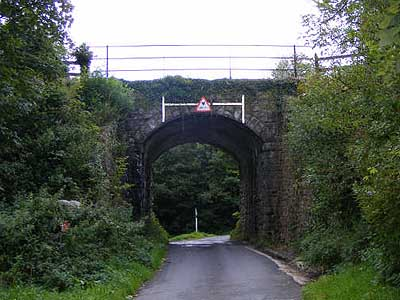 Railway arch at Okehampton