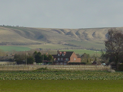 Olivers Castle, viewed from near Bromham