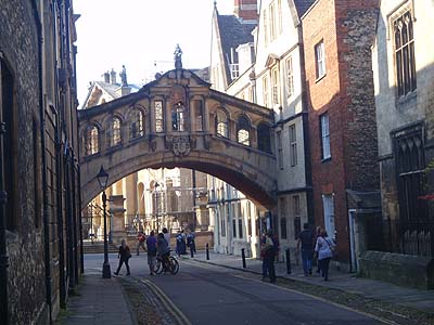 An arch in Oxford