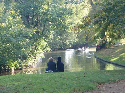 River Cherwell in Oxford