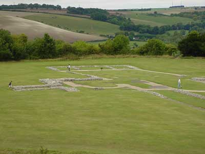 The Cathedral at Old Sarum