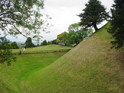 The Moat at Old Sarum
