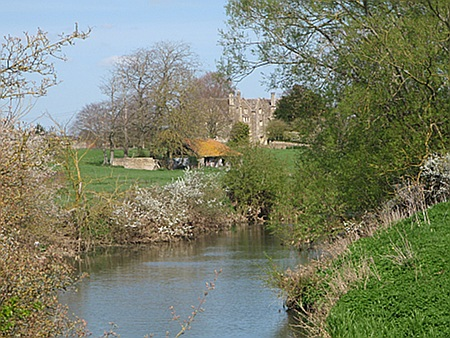 Tranquil reiver near Melksham, Wilts