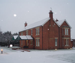 Well House Manor, Melksham, Christmas