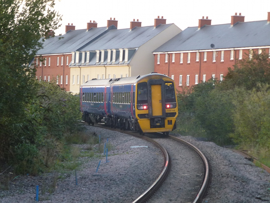 Last Weymouth to Swindon train leaves Melksham