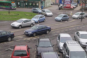 Traffic Jam in Melksham