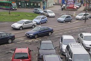 Traffic Jam in Melksham