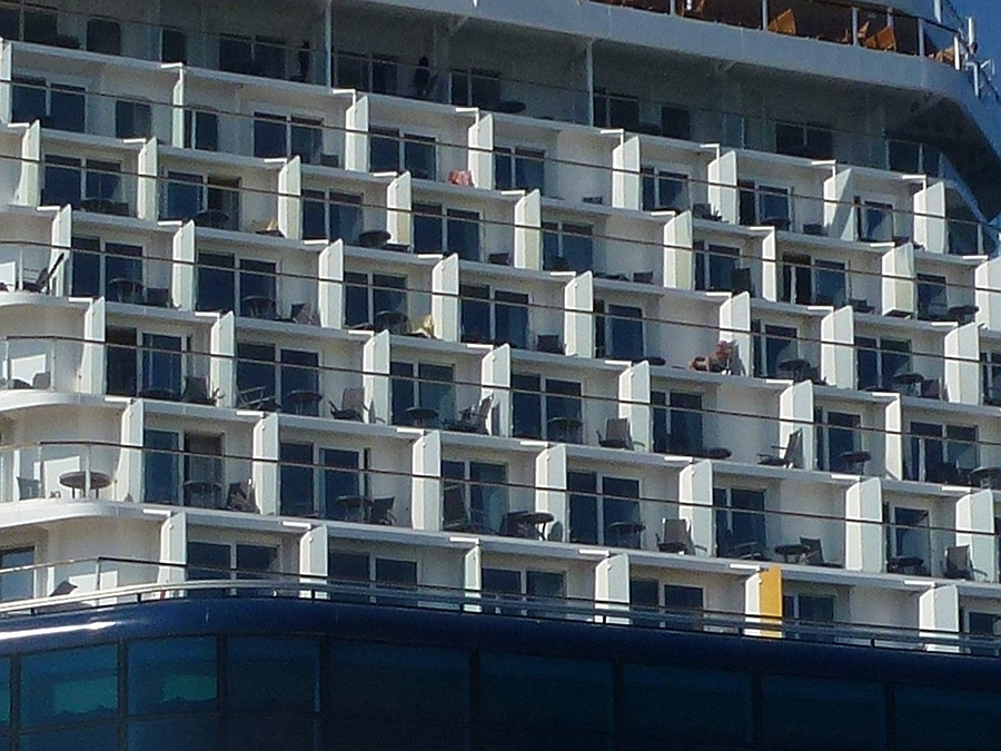 Rear view of Celebrity Eclipse