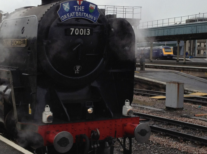 Oliver Cromwell at Bristol Temple Meads