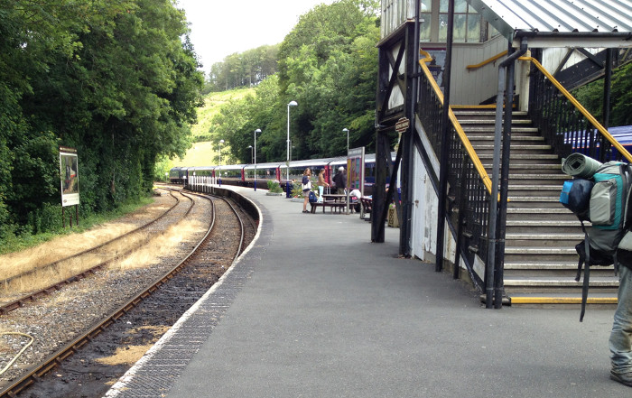 Bodmin Road / Parkway - the Bodmin General platform