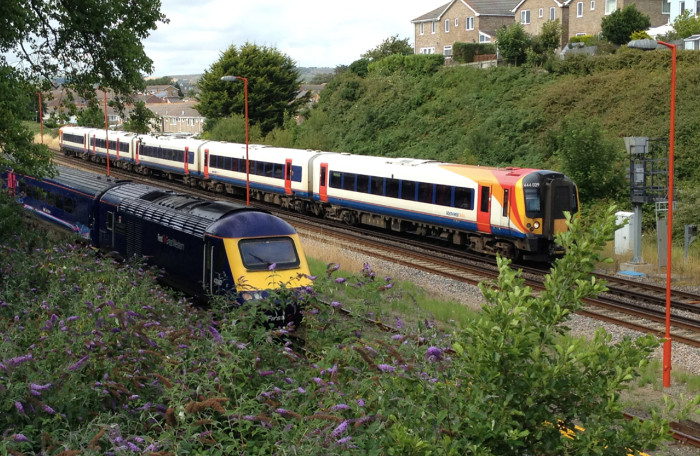 Weymouth - HST awaits its return time
