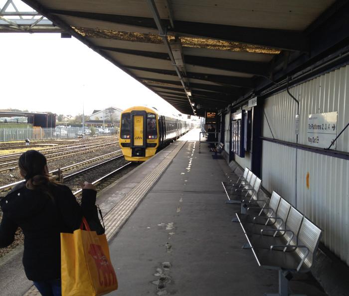 Gloucester - longest platform in the UK