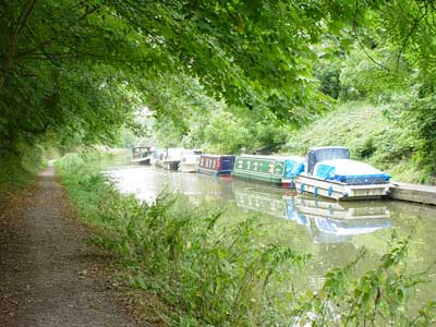 Pewsey, Kennet and Avon canal