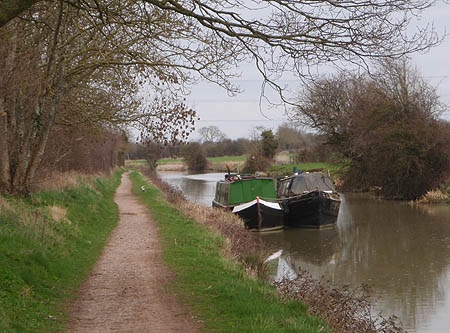 Kennet and Avon Canal near Whaddon