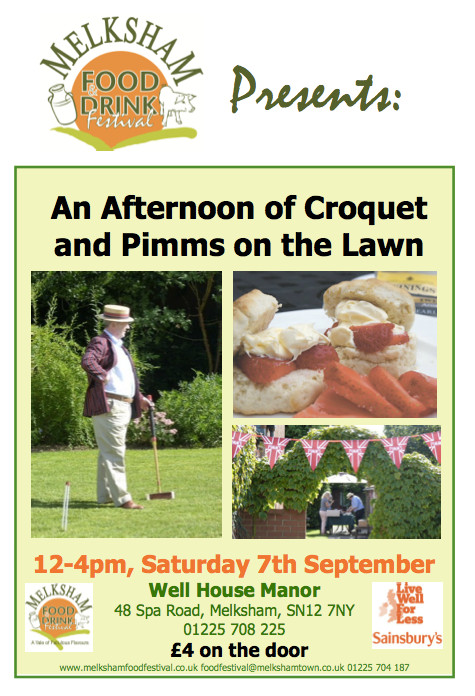 Pimms and Croquet, September 2013