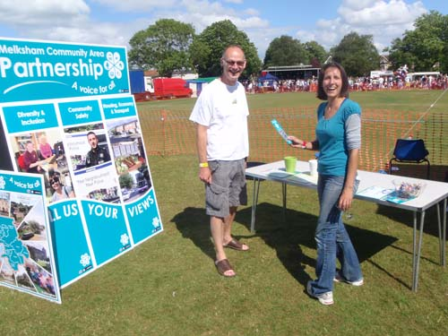 Community Area Partnership stand