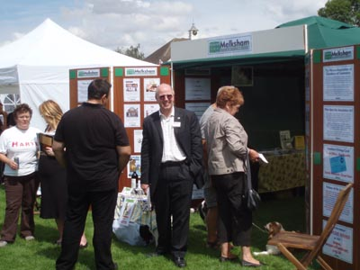 Melksham Chamber of Commerce stand