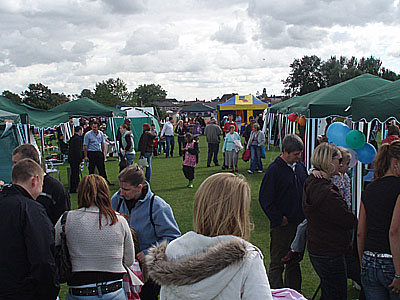 Party in Park, Melksham, 2008