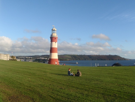 Smeatons Lighthouse, Plymouth Hoe