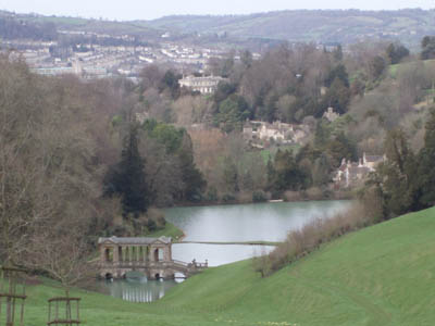 Prior Park, Bath - the View