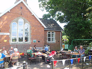 Cream teas at the village hall