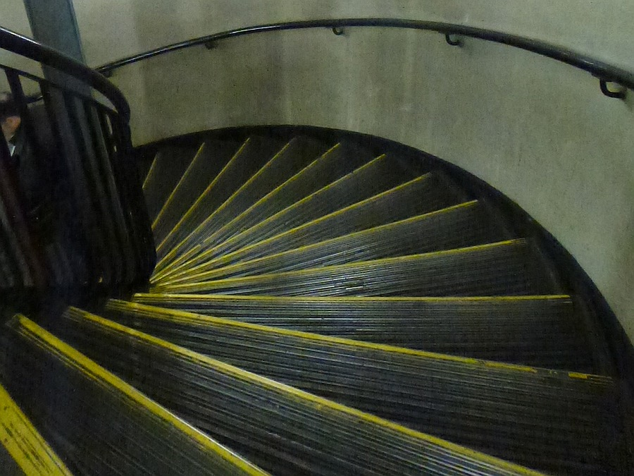Emergency Stairs at Queensway, Central Line