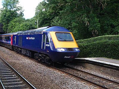 Avoncliff, with an HST
