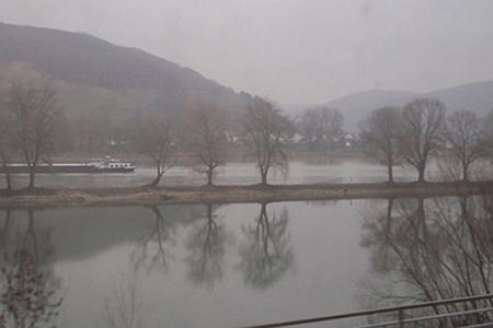 The Rhine, from the train