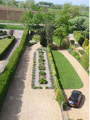View from the roof of a Melksham Spa House
