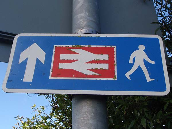 This way to station