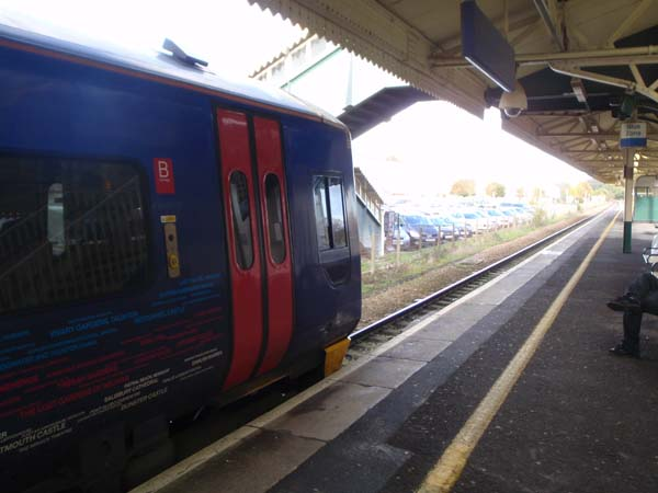 Transwilts train at Chippenham