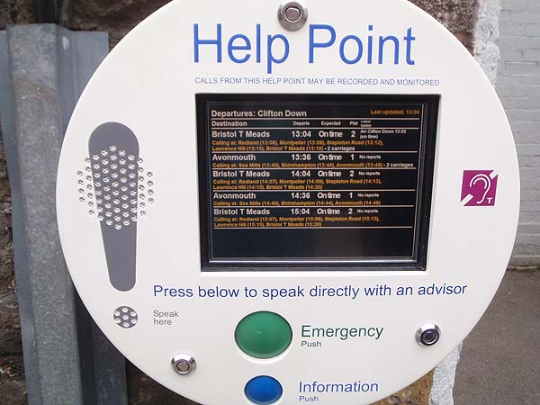 Train Information Point