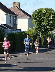 Runners in Melksham