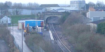 Melksham Station - overview