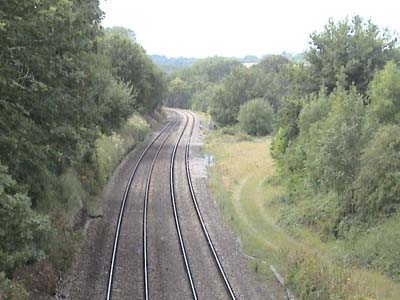 Site of Savernake station and Junction