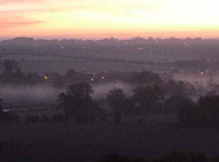 Salisbury at dawn
