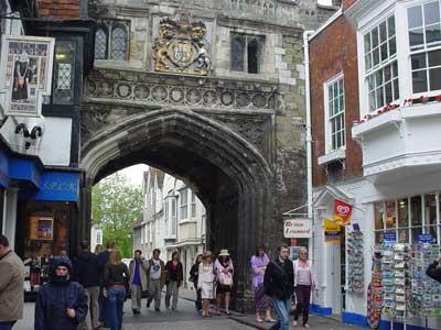 High Street Gate, Salisbury Cathedral Close