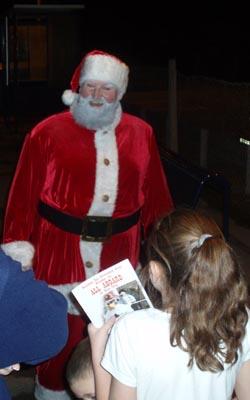 Santa at Melksham, December 06
