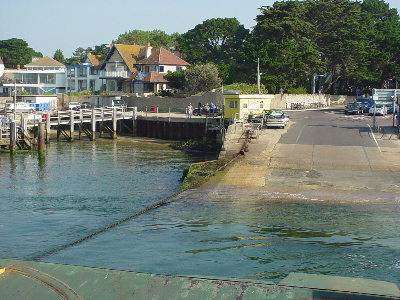 The Sandbanks Ferry
