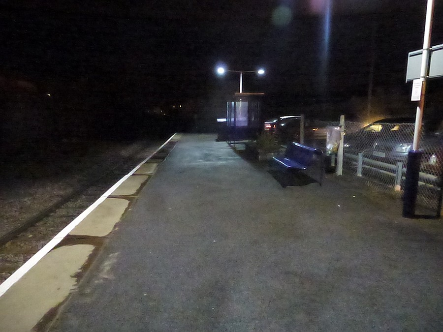 Melksham Station - no train due